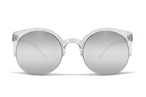 Quay Macy Sunglasses - Clear