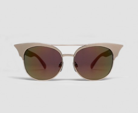 Quay Zig Sunglasses - Gold