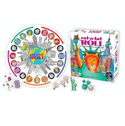 Rat-A-Tat Roll Dice & Card Game