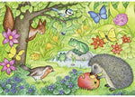Ravensburger Animals in Our Garden Puzzle 2x12pc Childrens Puzzles