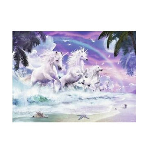 Ravensburger Unicorns On The Beach Puzzle 150Pc