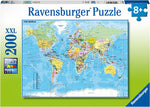 Ravensburger Map of the World Puzzle 200pc