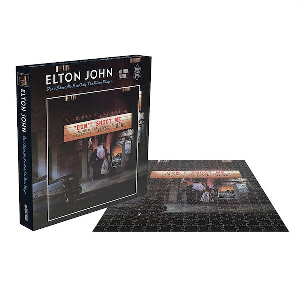 Elton John - Don't Shoot Me I' M Only The Piano Player - 500pc Jigsaw Puzzle