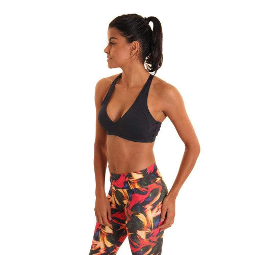 Liquido Scarlet Eco Sports Bra - Black