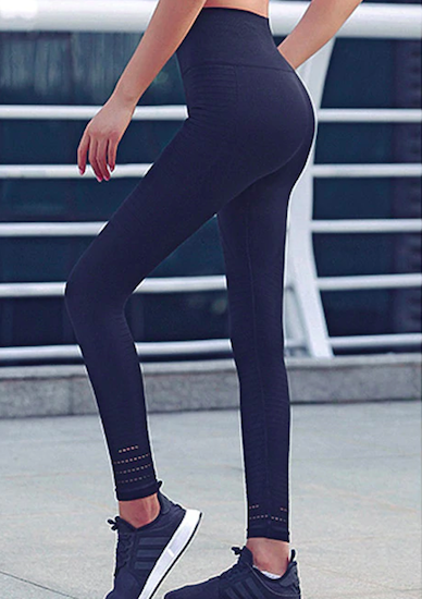 HOT DEAL: Seamless Sports Tights - Black