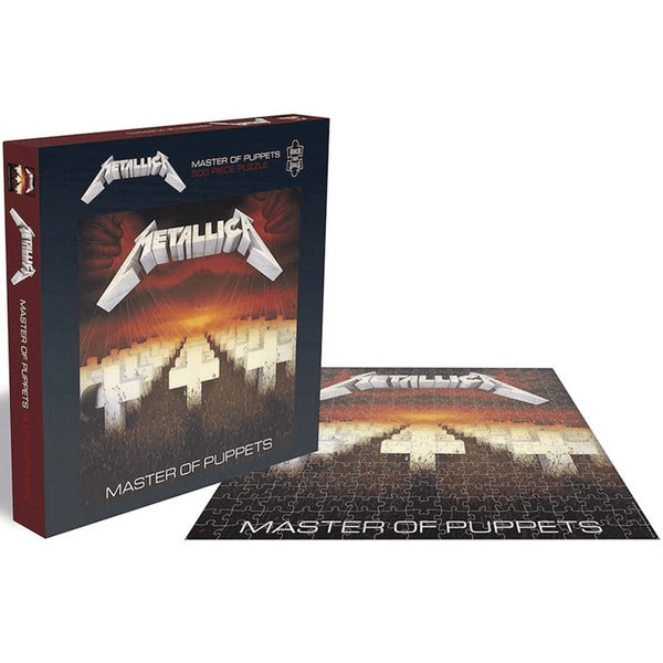 Metallica - Master Of Puppets 500pc Jigsaw Puzzle