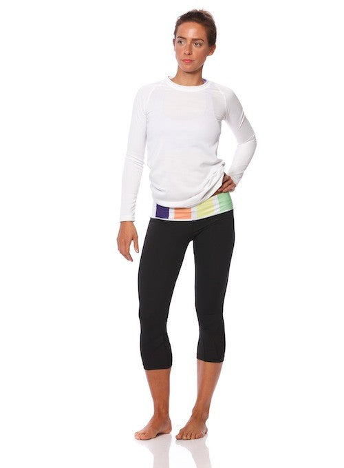SIX30 Women's Chanel 3/4 Compression Tights
