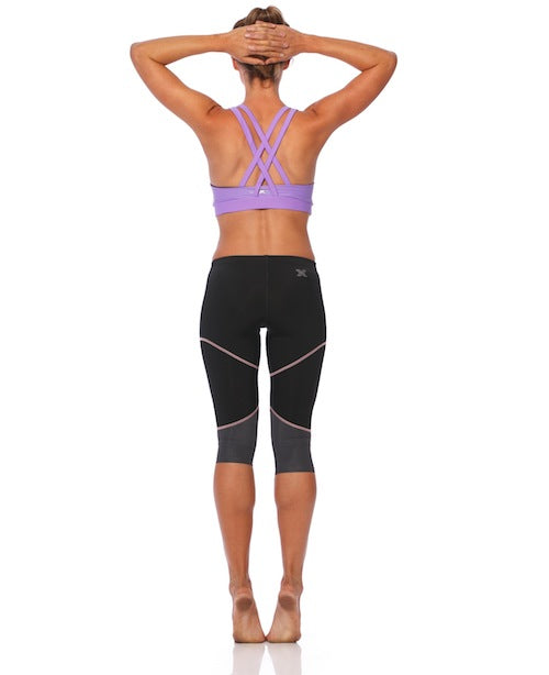 SIX30 3/4 Running Tights - Luxe