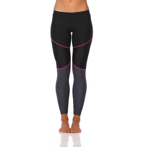 SIX30 Women's Mink Pink Compression Tights