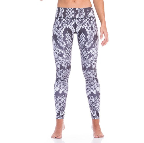 Charcoal Cheetah Compression Tights