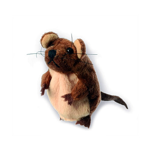 The Puppet Company Uk Mouse Finger Puppets - Brown