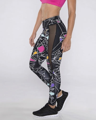 TLF Captivate Sports Tights - Skulleidoscope