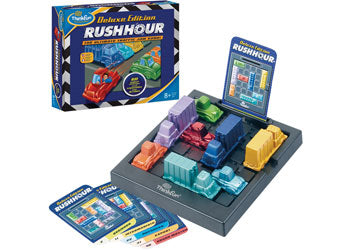 ThinkFun Rush Hour Deluxe Edition Game