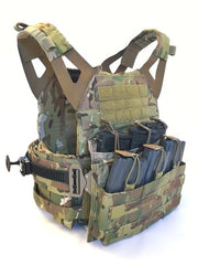 Weapon Retention With Front Pouches