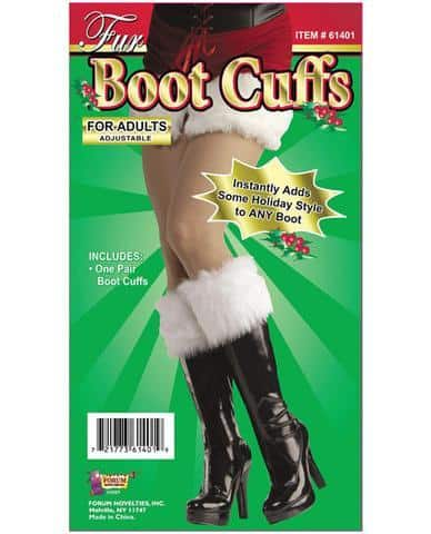 Fur Boot Cuffs Adds Holiday Style To Any Boots
