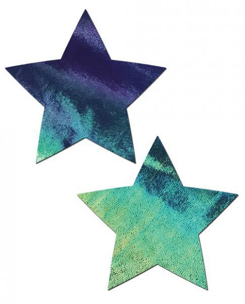 Pastease Black Opal Liquid Star Pasties O-S