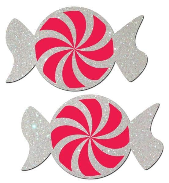 Peppermint Candy Nipple Pasties O-S
