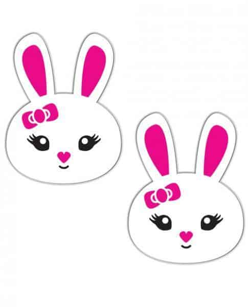 Pastease Bunny White Pasties