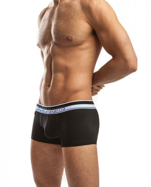 Jack Adams Pop Trunks Black Large