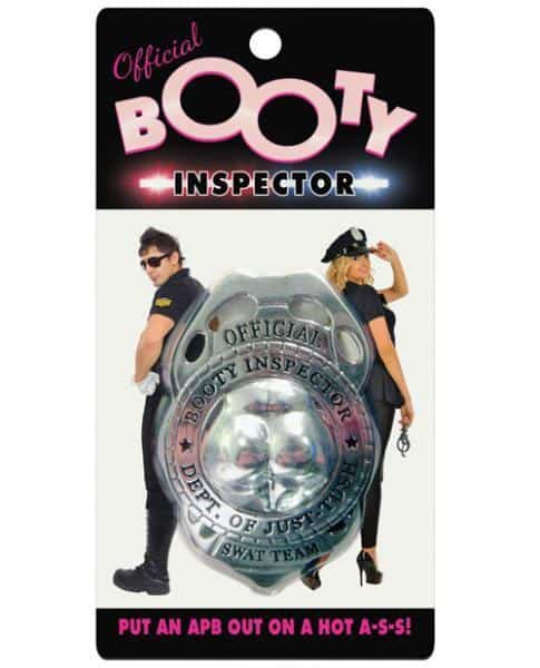 Booty Inspector Badge