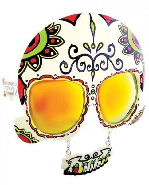 Sun Staches Day Of The Dead Sunglasses