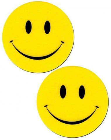 Smiley Face Yellow Pasties O-S