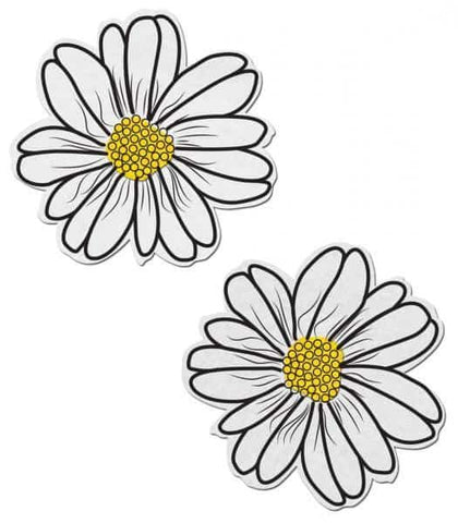 Wildflower White-Yellow Pasties