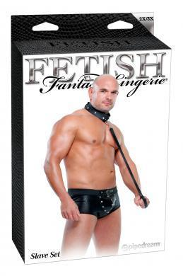 Fetish Fantasy Male Slave Set 2Xl-3Xl
