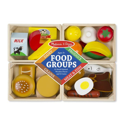 Food Groups Wooden Play Food - JKA Toys