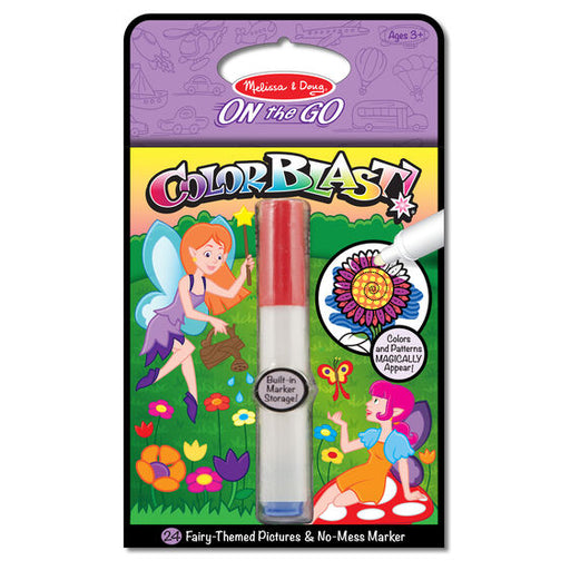 ColorBlast! Fairies No Mess Coloring Pad - JKA Toys
