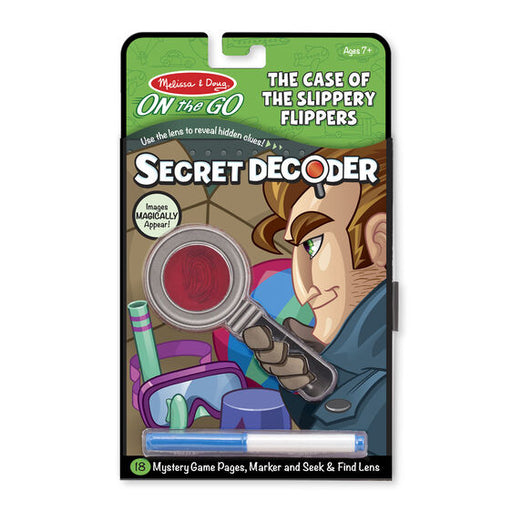 Secret Decoder: The Case of the Slippery Flippers - JKA Toys