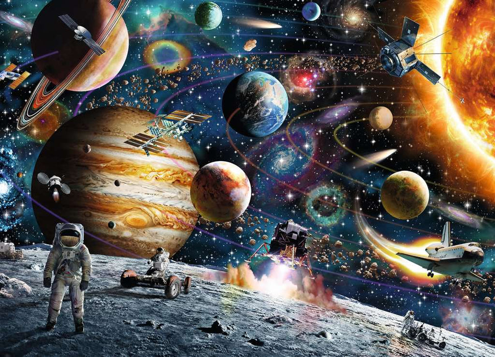 60 Piece Outer Space Puzzle - JKA Toys
