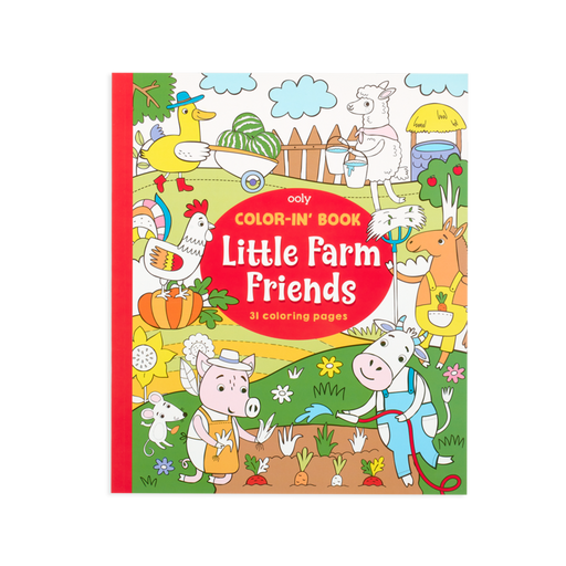 Little Farm Friends Coloring Book - JKA Toys