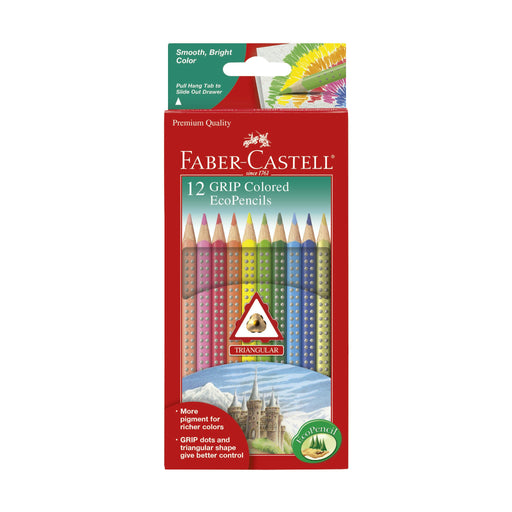 12 Grip Colored Ecopencils - JKA Toys