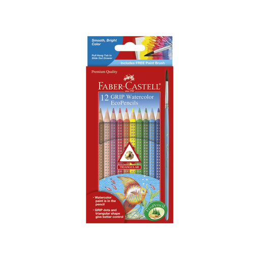 12 Grip Watercolor EcoPencils - JKA Toys