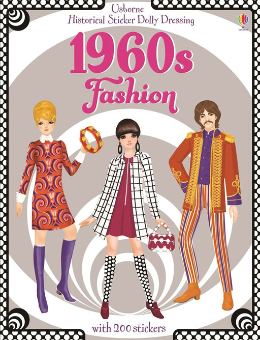 1960s Fashion Sticker Book - JKA Toys
