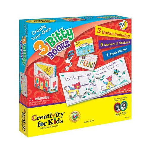Create Your Own 3 Bitty Books - JKA Toys
