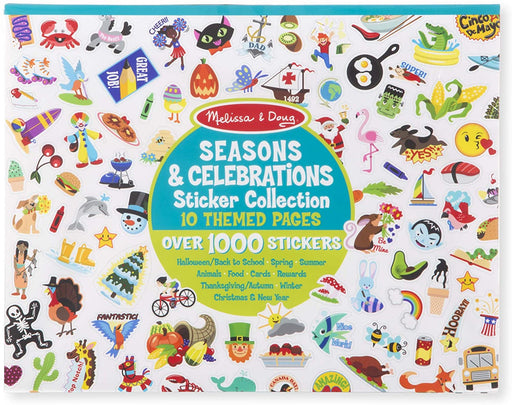 Seasons and Celebrations Sticker Collection - JKA Toys