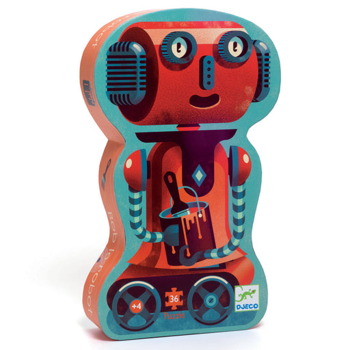 36 Piece Bob the Robot Shape Puzzle - JKA Toys