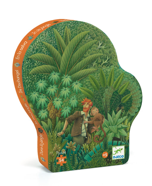 54 Piece In The Jungle Puzzle - JKA Toys