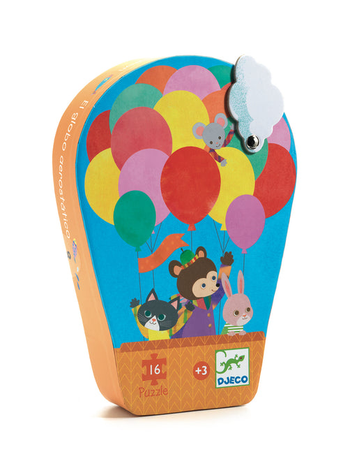 16 Piece Hot Air Balloon Puzzle