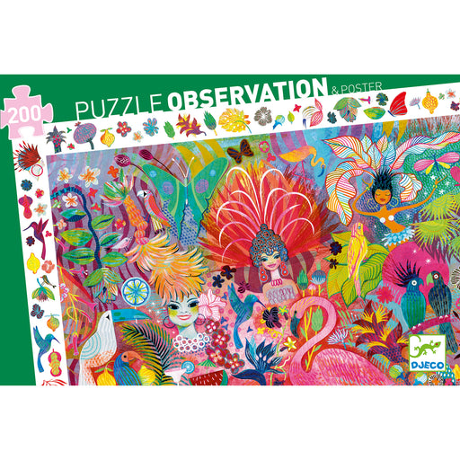200 Piece Rio Carnaval Observation Puzzle - JKA Toys