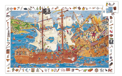 100 Piece Pirate Observation Puzzle - JKA Toys