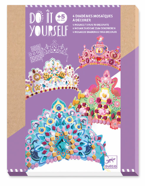 Mosaic Tiaras to Decorate - JKA Toys