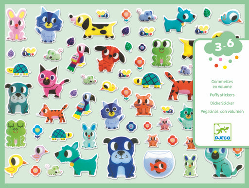 My Little Friends Puffy Stickers - JKA Toys
