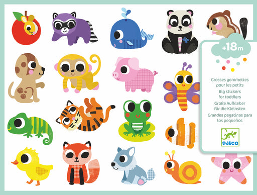 Baby Animals Toddler Stickers - JKA Toys
