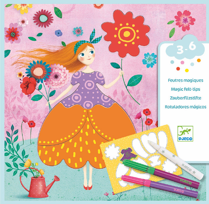 Marie's Pretty Dresses Magic Marker Kit - JKA Toys
