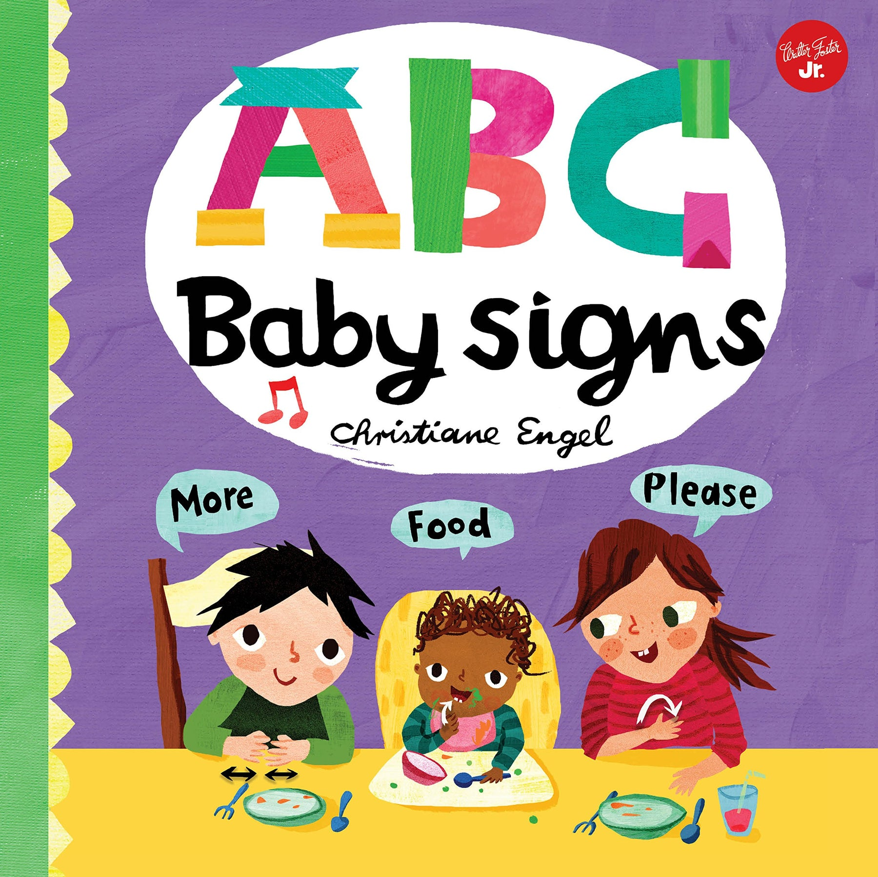 ABC Baby Signs Board Book - JKA Toys
