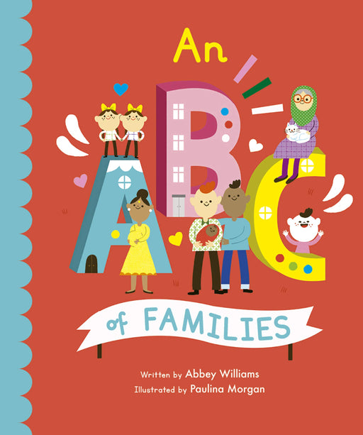 An ABC of Families Board Book - JKA Toys