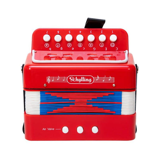 Red Accordion - JKA Toys